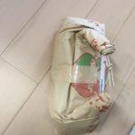 お米の袋も猫にとっては…大きい遊び道具